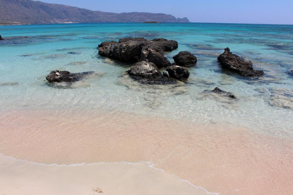 Elafonissi beach, Crete
