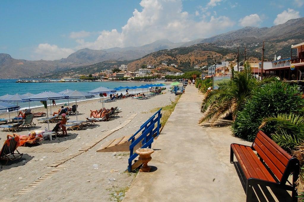 Plakias beach, Crete.