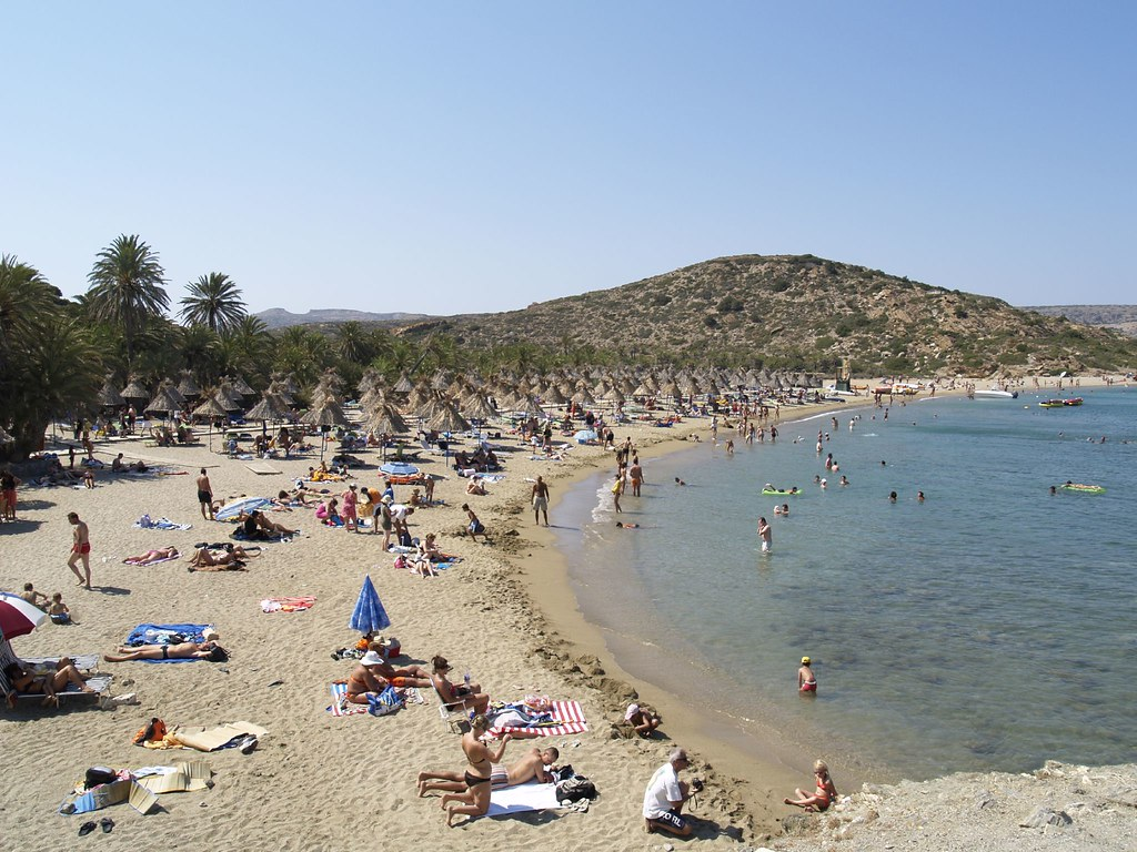Vai Beach, Crete.