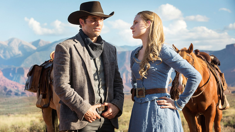 Westworld Evan Rachel Wood James Marsden