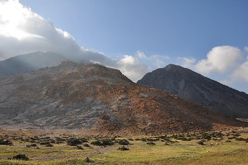 Nysiros Volcano