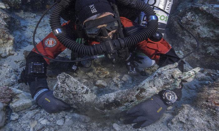 Antikythera dive