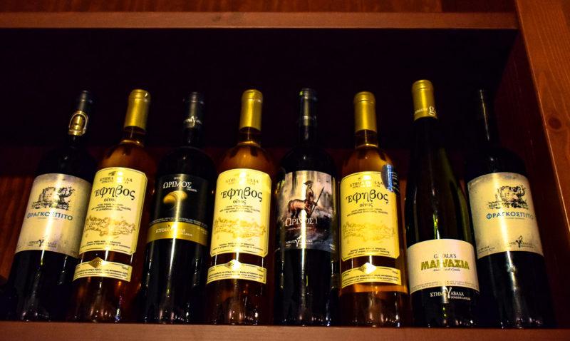 Wines of Crete: Labels