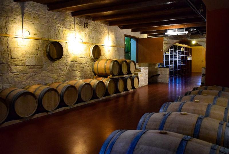Wines of Crete: Cellars of the local winery (photo by: Gabi Ancarola)