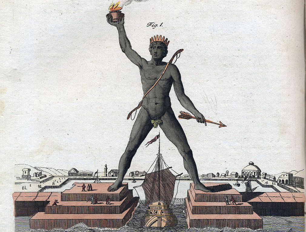 Colossus Rhodes - one of Seven Wonders of the World