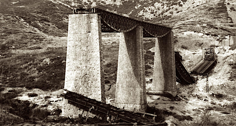 Gorgopotamos greece world war II