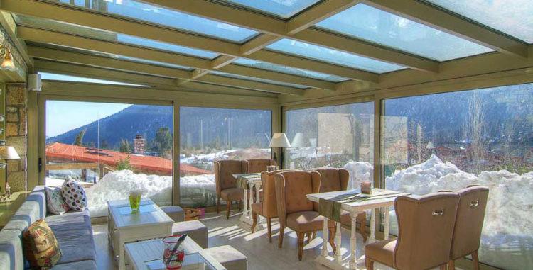 Best hotels in winter resorts of Greece