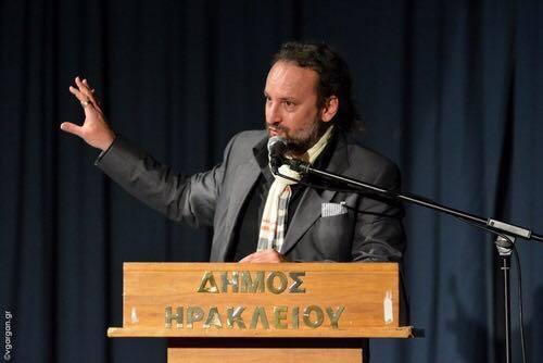 Mr. Gian Andrea Garancini, Heraklion's deputy-mayor for tourism.