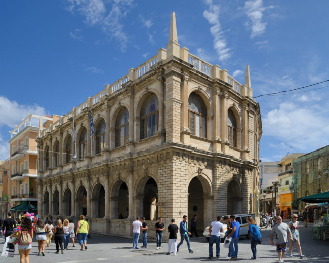 Heraklion is an open museum that anybody can visit without the need of a ticket.