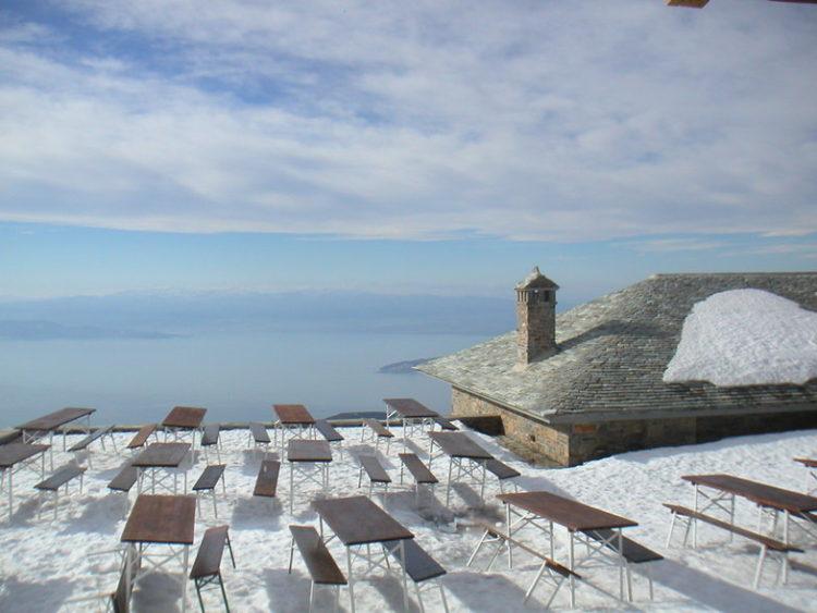 Best ski resorts of Greece, pelion