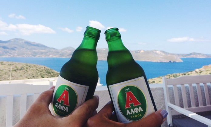 Many different regions in Greece have their own beers, often handcrafted and produced in small quantities and many of them coming from small or familiar microbreweries,