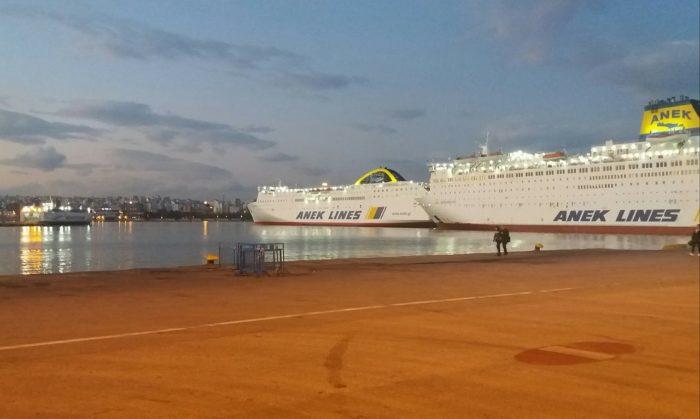 Ferry Strike