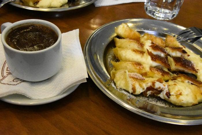 Bougatsa Traditional dish from Chania, Crete