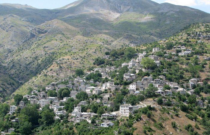 Sirrako Village in Epirus