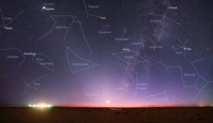 ancient greek stars constellations