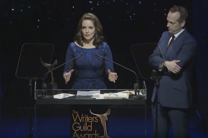 Tina Fey WGA Awards