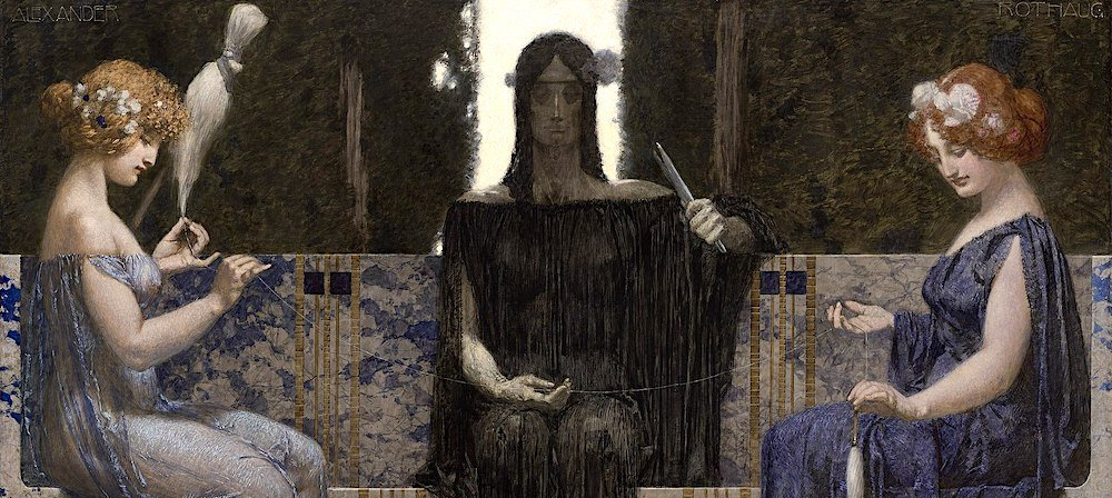 Moirai fates greek mythology