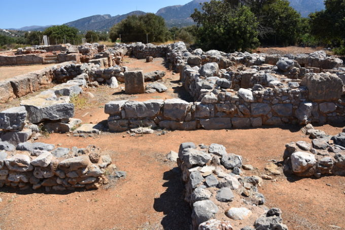 Archaeological Site of Malia (Courtesy of The Tiny Book).