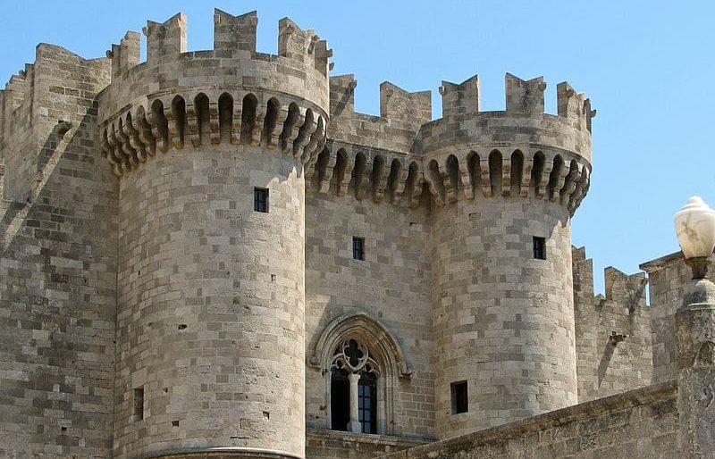 Ρόδος, Παλάτι του Μεγάλου Μαγίστρου
