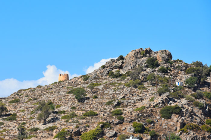 Part of the tower of the fortress, up the hill (Courtesy of The Tiny Book).