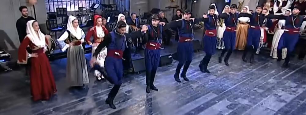 Pentozali traditional greek dance crete