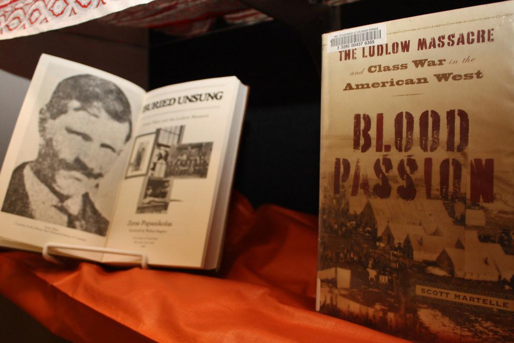 Louis Tikas, The book Blood Passion