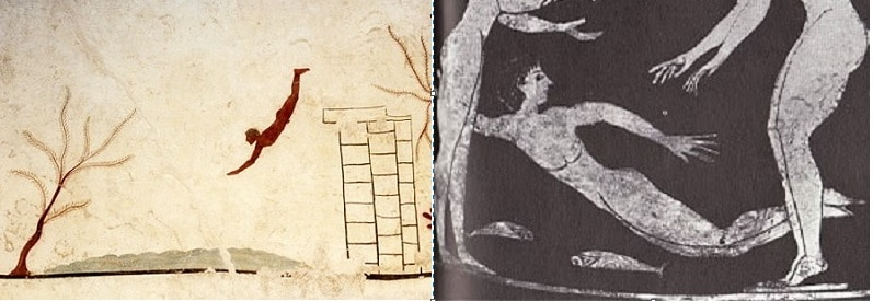 Did Ancient Greeks Enjoy Swimming and Going to the Beach?