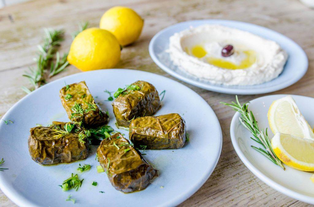 Vegan diet Greek food