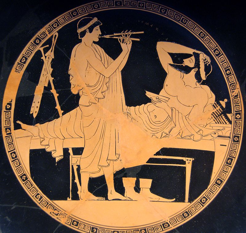 ancient Greek east symposium
