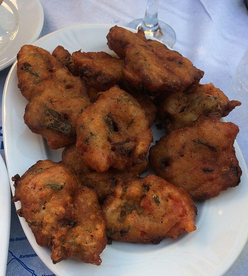 Tomato Fritters Santorini