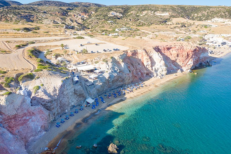 Milos Island Beaches for Family Swimmers