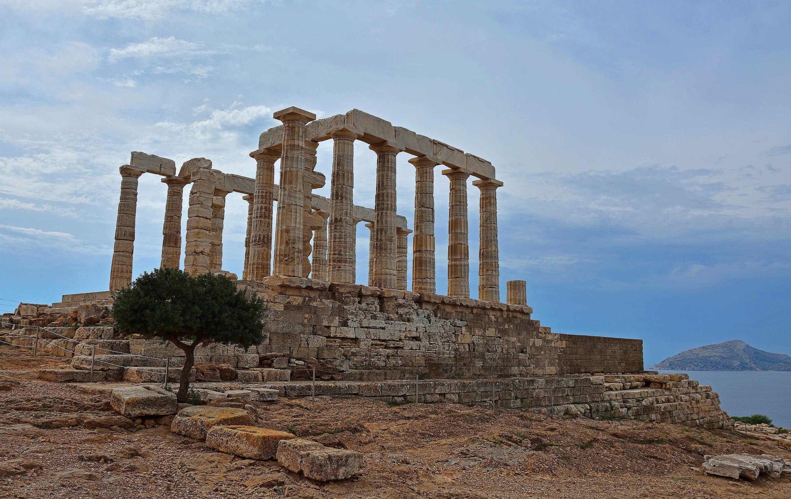 cape sounio temple of poseidon