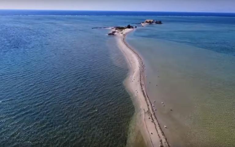 greek island beach lefkada agios nikolaos