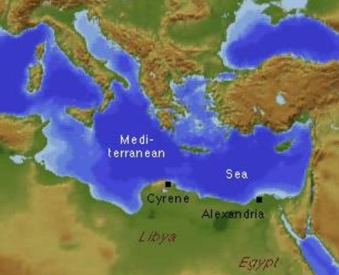 Cyrene ancient Greek city