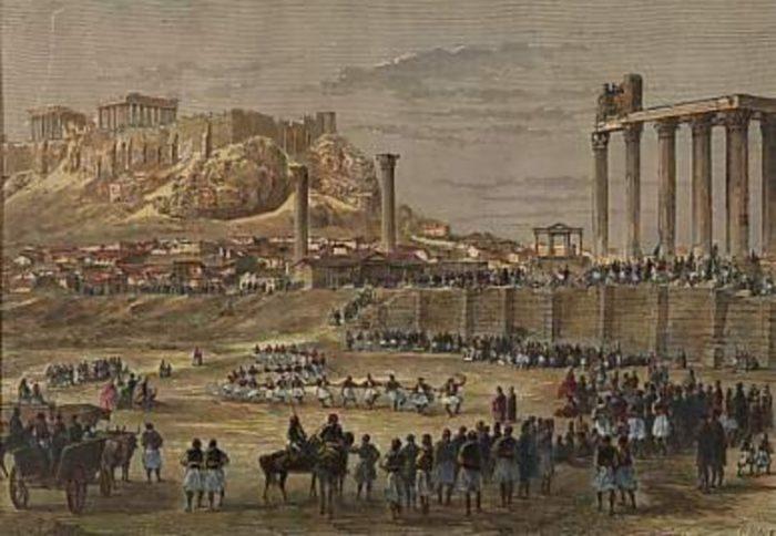 temple Olympian Zeus