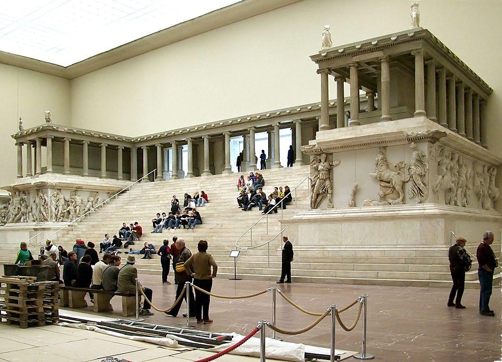 Ancient greek art masterpieces