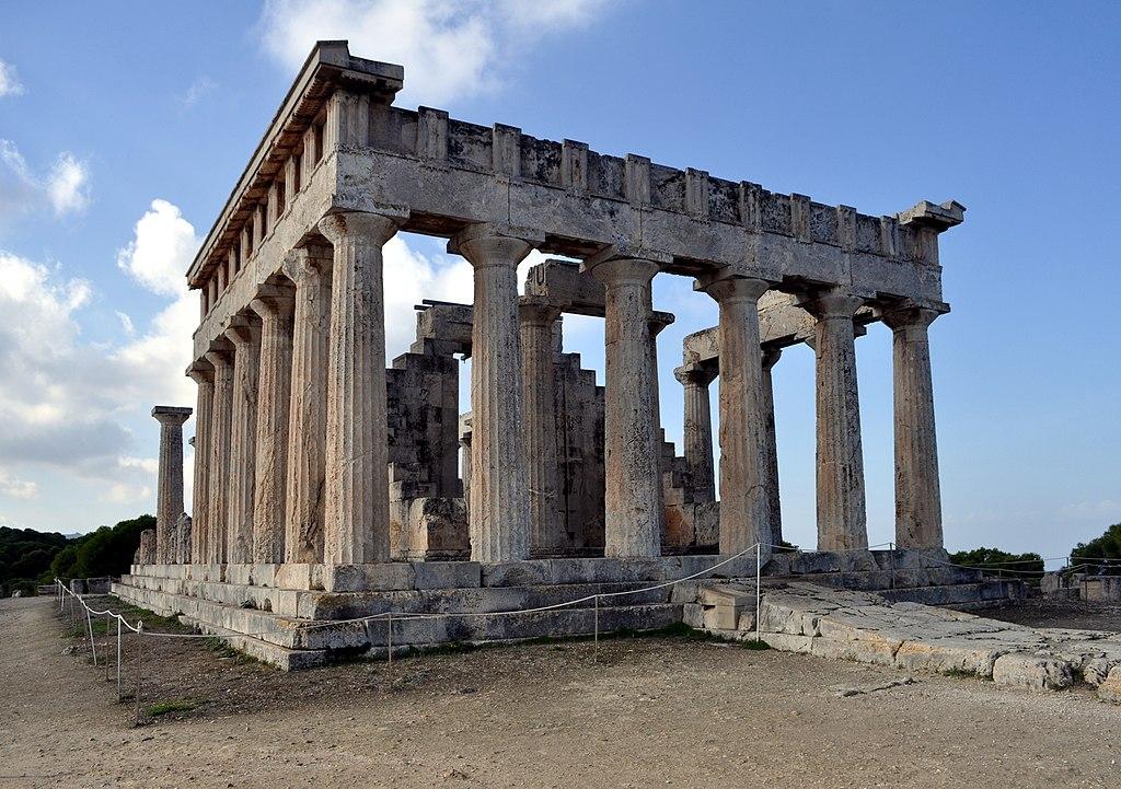 ancient greek art masterpiece