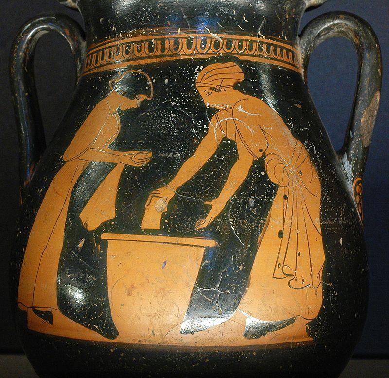 Life ancient Athens