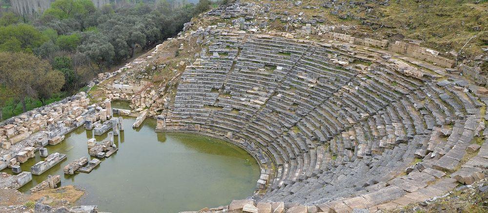 Εγκαταλειμμένη Αδριανόπολη Αρχαία Ελληνική Πόλη