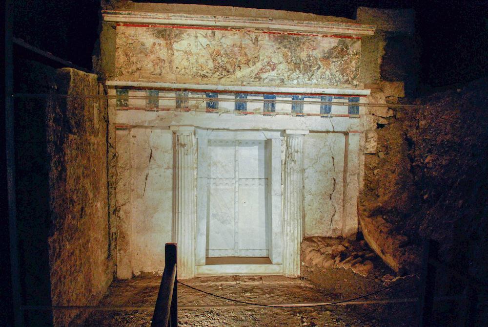 Philip Macedon Tomb Vergina