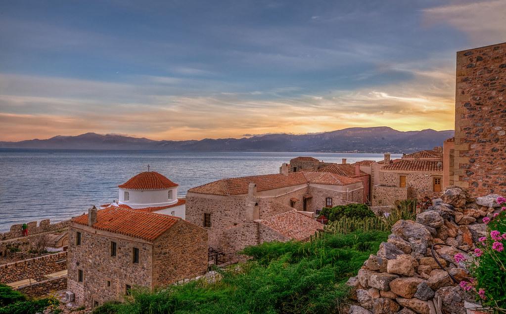 Ancient Villages in Greece Monemvasia
