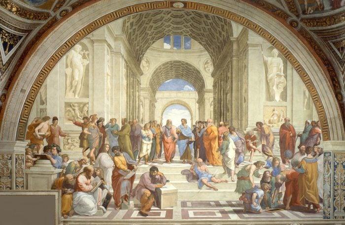 School of Athens masterpiece