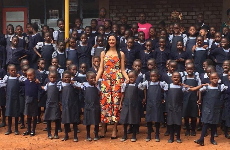 Meet the Greek-Congolese Model Empowering Girls in Africa