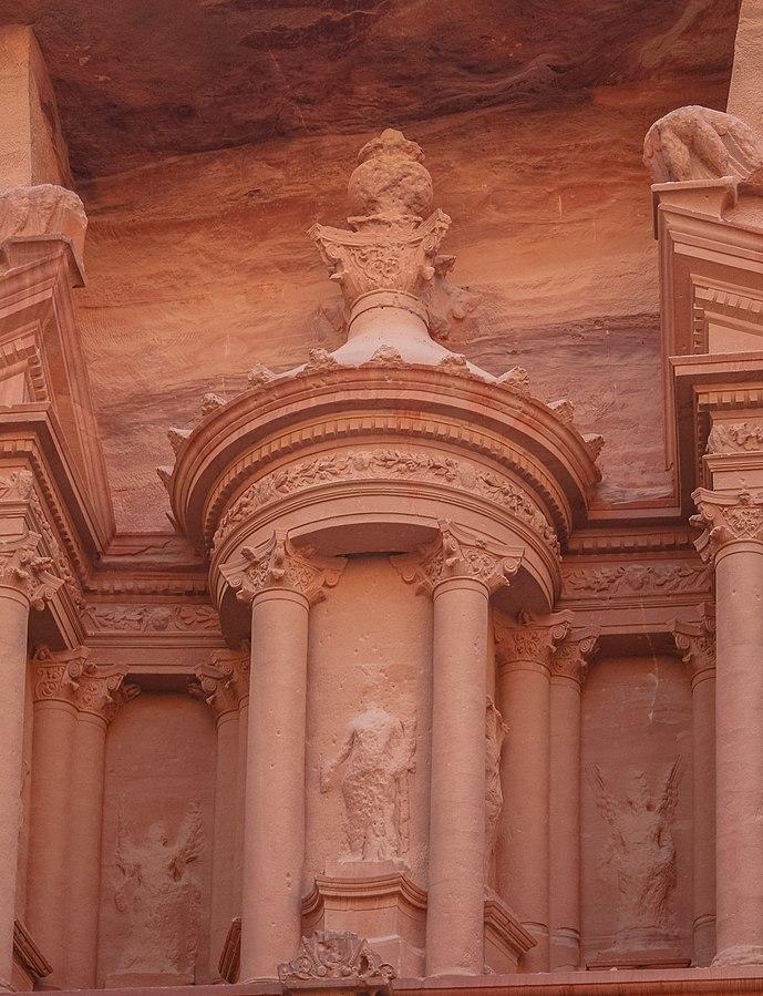 Building facade detail.