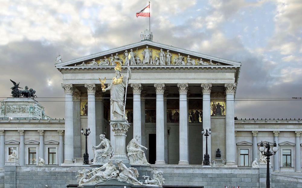 Parliament building austrian austria greece greek