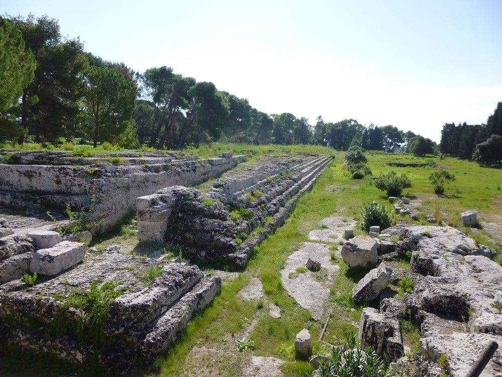 Αρχαία ερείπια στις Συρακούσες