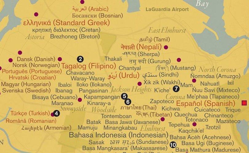 """Κυκλοφόρησε ο χάρτης """"Η αδυσώπητη μητρόπολη"""