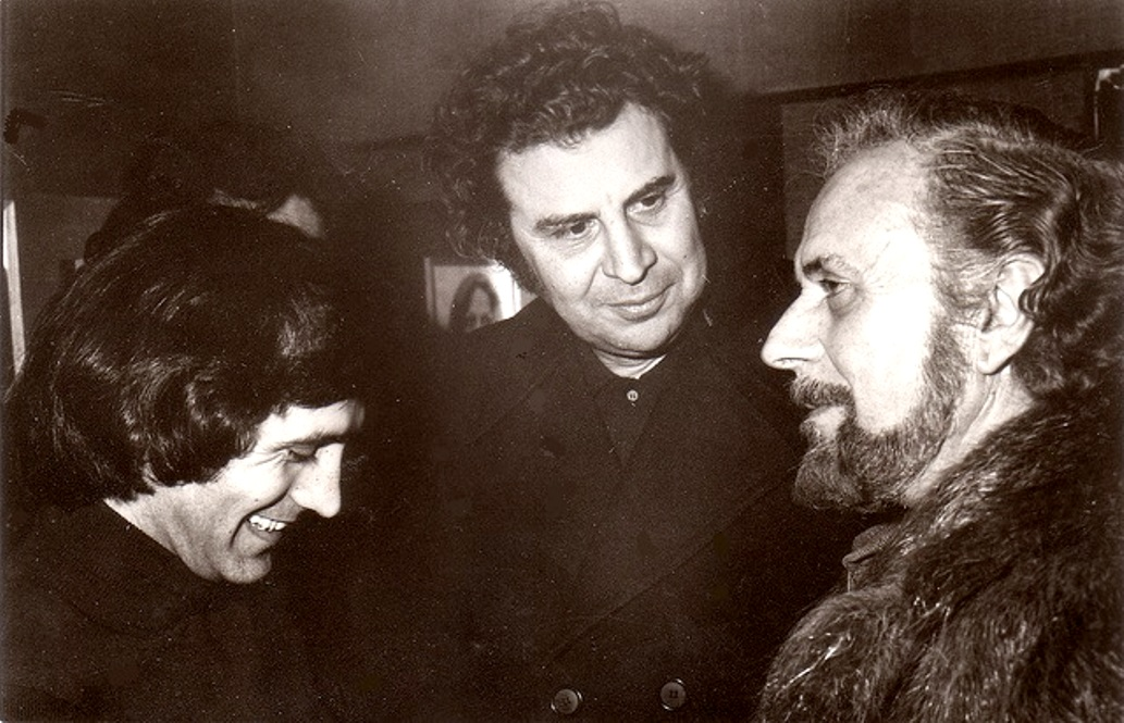 Ritsos, Dalaras and Mikis Theodorakis