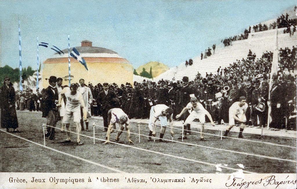Olympics games Greece spyros louis