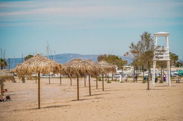 Glyfada beach, outside Athens